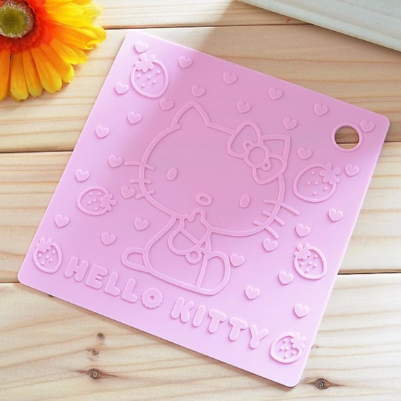 Hello Kitty Other - Hello Kitty Silicon Insulated Pad Mat Kitchen